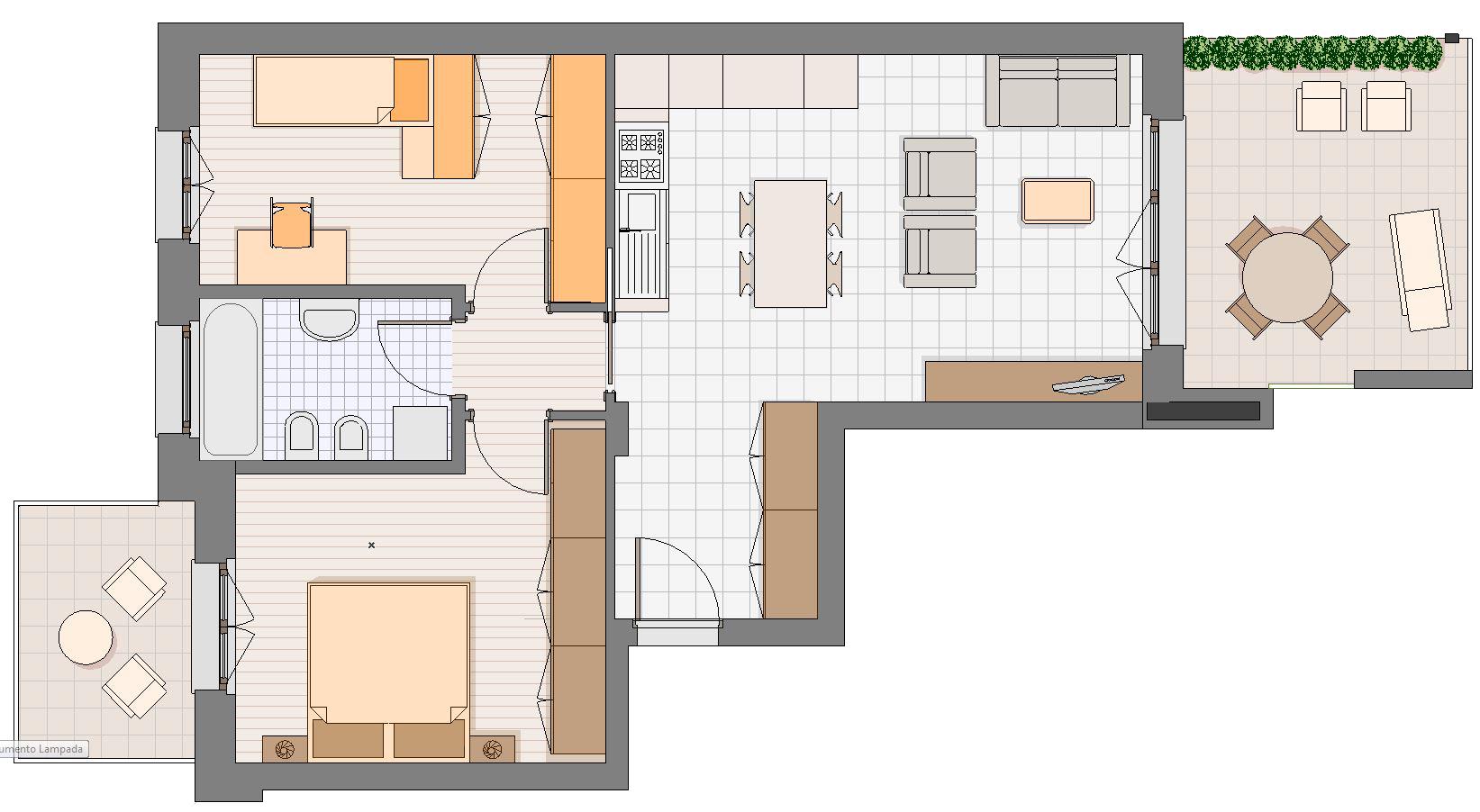 Residenza parco azzurro gaggiano appartamenti nuova for Planimetrie per case di 3000 piedi quadrati